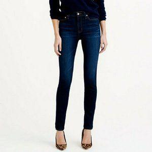 Zara Denim Darkwash Stretch Skinny Jeans Size 6